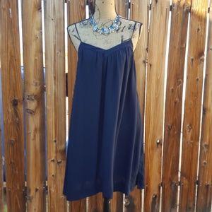 BANANA REPUBLIC Blue Sun Dress